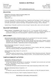 Student Job Resume Sample First Job Resume Samples Resumes Examples