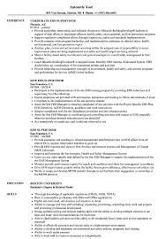 Ehs Resume Ehs Supervisor Resume Samples Velvet Jobs 1