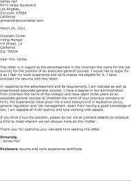 Ideas Of Do Cover Letters Matter General Counsel Cover Letter Sample