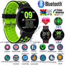 Dressuplife/ <b>W8 Color Screen Smart</b> Bracelet Waterproof Sport ...