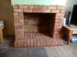 brick fireplace built in northampton 1