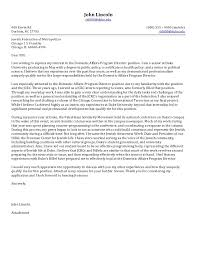 Executive Cover Letter Samples Director Letter Of