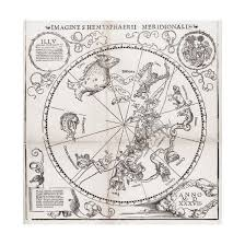 Star Charts For Southern Hemisphere Southern Hemisphere Star Chart 1537 Giclee Print By Middle Temple Library Art Com