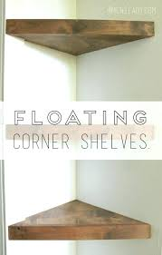 how to hang a floating shelf splendid how to hang floating shelves without nails make corner