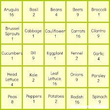 square foot garden spacing gardening soil mix calculator