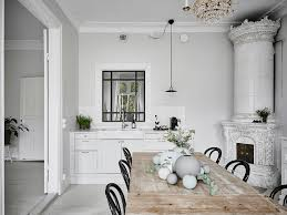 Bentwood Dining Table Interiors Nordic Scandinavian Interior Features Kitchen Dining