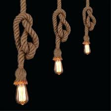 rope pendant retro vintage rope pendant light lamp rope pendant light uk