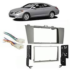 fits toyota camry solara 2004 2008 double din harness radio install dash kit fits toyota camry solara 2004 2008 double din harness radio install dash kit