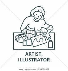 Artist Illustrator Vector Photo Free Trial Bigstock