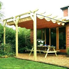 diy patio canopy outdoor privacy screen completed project wood tent inside ideas 17
