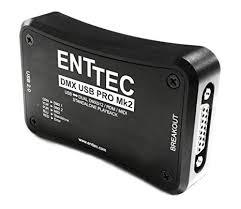 Enttec DMX USB Pro Mk2 70314 Pro2 MIDI ... - Amazon.com