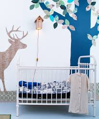 woodland wallpaper silhouettes