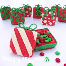 christmas present cookies. Simple Christmas Christmas Present Cookies Filled With Candy In Hungry Happenings