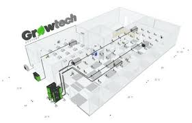 Basement Grow Room Design Interesting Grow Room Blueprints Design Commercial Grow Room Designs