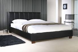 Limelight Pulsar Black 4ft Small Double Faux Leather Bed Frame by ...