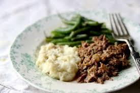 Slow Cooker Pot Roast Low Carb Meal Prep Basic