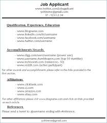 Hobbies For Resume Awesome 60 Resume Format 60 Idiomax