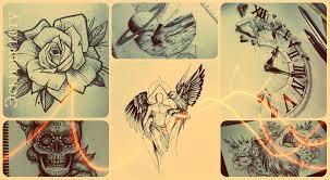 эскизы татуировок алфавитный каталог рисунков для тату