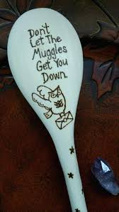 food safe paint for wood harry potter fan spoon wood burned spoons wooden kitchen spoon harry