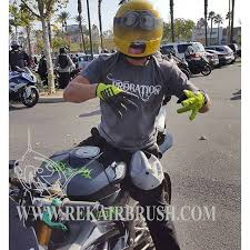 rekairbrush motorcycle helmets for sale custom airbrush and
