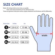 Nitrile Gloves Disposable Safety Glove 6pcs