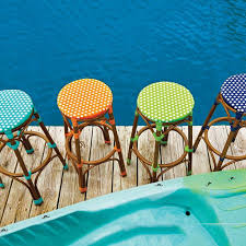 patio furniture outdoor living bold and bright resin wicker patio furniture is a great way to update