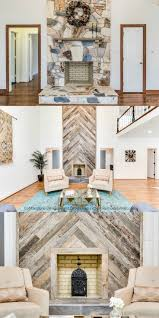 stone fireplace update to wood herringbone fendall home renovation cobblestone development group featured on