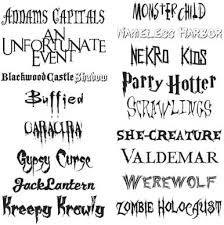 scary fonts for halloween macworld  halloween fonts