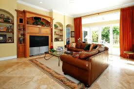 granite floor designs for living room. living room decoration ideas livingroom interior flooring for family gallery traditional design with brown granite and leather sectional sofa also tv floor designs