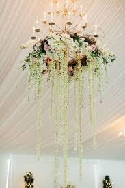 hanging flowers wedding diy 646 best fl chandelier hanging centrepiece images on