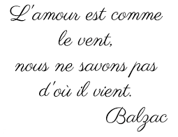 French Quotes About Love Amazing Fab French Balzac Love Quote Basic English Translation Love Is