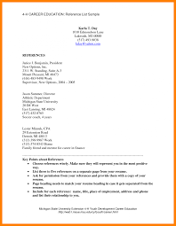 Resume Reference Examples Resumes Resume Reference Letter Yralaska Com List For Marvellous 69