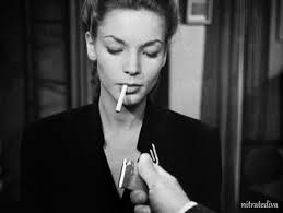 Image result for film noir cigarette smoke