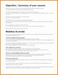 Career Objectives Cv Objective Resume Marketing Executive Goal