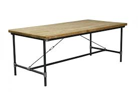 metal base dining table. Medium Size Of Vintage Metal Base Dining Table Room Live Edge
