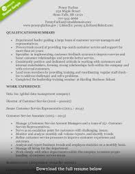 how to write a perfect customer service representative resume customer service resume experienced