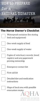 17 best ideas about natural disasters floods water horse owner s checklist preparing for a natural disaster flooding hurricanes tornadoes