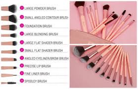 bh cosmetics brushes pink. bh cosmetics pretty in pink - 10 piece brush set with cosmetic bag bangladesh bh brushes