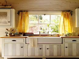 Kitchen Curtains Yellow Kitchen Cool Jcpenney Kitchen Curtains With White Wooden Framed