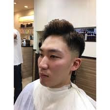 外人風ベリーショート フェードスタイル ヘアサロン大野 Barbier店