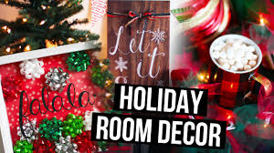 diy holiday room decor ideas christmas makeover laurdiy diy fyi