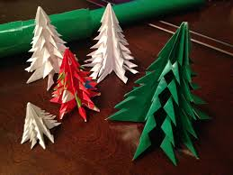 Paper Christmas Tree Ornaments Frugal Allergy Mom Diy Paper Christmas Tree Ornament