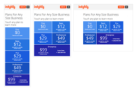 Project Detail View Mobile Only Pricing Page For Insightly Com
