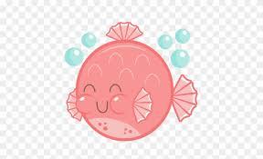 cute puffer fish clip art. Interesting Fish Puffer Fish Clip Art  Cute Clipart Throughout U