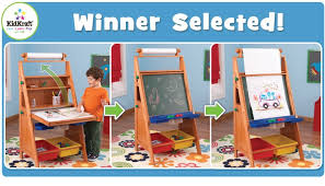 easel desk giveaway kidkraft toys furniture february 2017