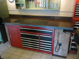 diy metal tool cabinet. workbench toolbox in garage ideas diy metal tool cabinet