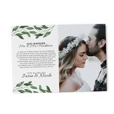 Announcement Postcards Just Married Elopement Announcement Cards Wedding Etsy Elopement