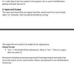 Solved C Code Notice Also The Quotes In The Program Ca