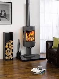 The Astroline 4CB stove is available in either wood burning or multi-fuel  versions and