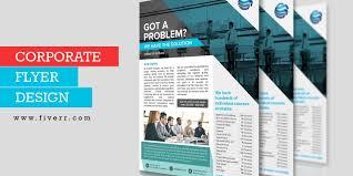 Design Corporate Design Business Corporate Flyer Offer Media